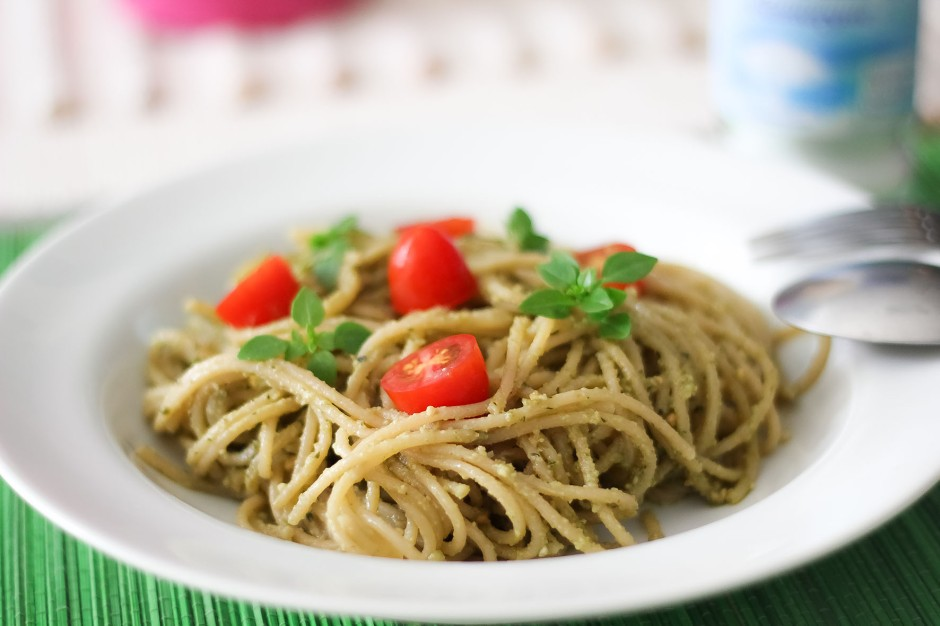Pasta al Pesto Vegano